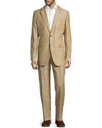 Façonnable - Textured Notch-lapel Suit - Lyst