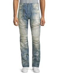 PRPS - Faded Moto Cotton Jeans - Lyst