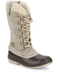 Sorel - Joan Of Arctic Faux-fur Trimmed Waterproof Boots - Lyst
