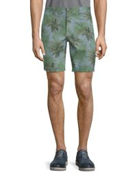 Slate & Stone - Novelty Ross Tropical-print Shorts - Lyst