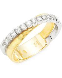 Marco Bicego - Masai Diamond 18k Gold Ring - Lyst