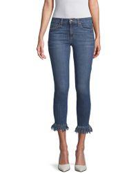 Joe's Jeans - Mabel Skinny Cropped Jeans - Lyst