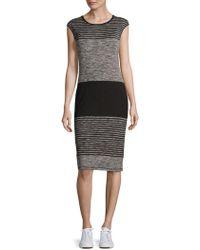 Max Studio - Cap Sleeve Sheath Dress - Lyst