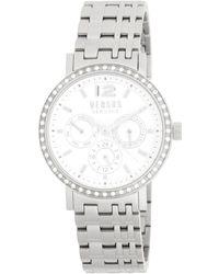 Versus - Manhasset Stainless Steel Link Bracelet Watch - Lyst
