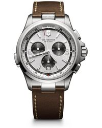Victorinox - Night Vision Stainless Steel Watch, 241729 - Lyst