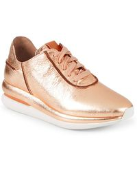 Gentle Souls - By Kenneth Cole Raina Lace-up Leather Sneakers - Lyst