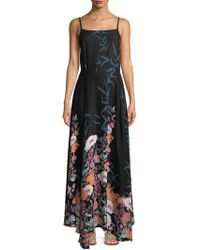 Free People - Floral Maxi Dress - Lyst