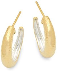 Gurhan - Sterling Silver Hook Back Earrings - Lyst