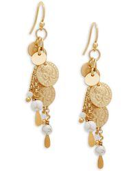 Chan Luu - Sterling Silver Dangle Earrings - Lyst