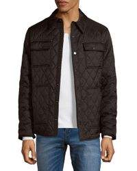 Rainforest - Quilted Button-front Jacket - Lyst