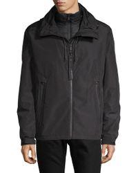 Cole Haan - 2-in-1 Full-zip Hooded Jacket - Lyst