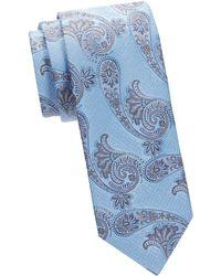 Eton of Sweden - Paisley Silk & Virgin Wool Tie - Lyst