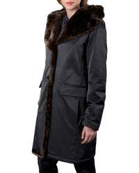 Jane Post - Princess Faux Fur Coat - Lyst
