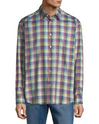 Robert Talbott - Sport Anderson Cotton Casual Button-down Shirt - Lyst