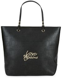 Love Moschino - Embossed Tote - Lyst