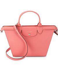 33217a09e4c Lyst - Longchamp Le Pliage Heritage Small Handbag in Black