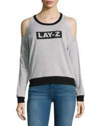 PPLA - Lay-z Graphic Jumper - Lyst