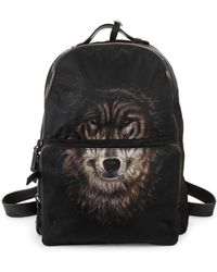 Valentino - Wolf-print Backpack - Lyst