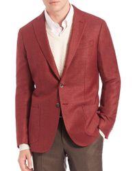 Saks Fifth Avenue - Wool & Silk Sportcoat - Lyst
