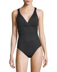 La Blanca - Island Strappy Back Swimsuit - Lyst