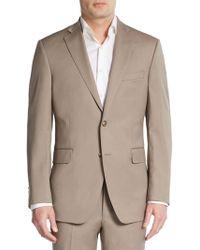 Saks Fifth Avenue Black - Slim-fit Wool Sportcoat - Lyst