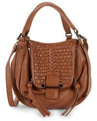 Kooba - Basket Woven Leather Hobo Bag - Lyst