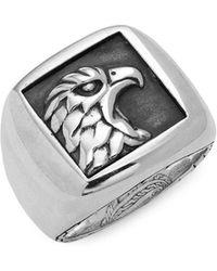 John Hardy - Legends Sterling Silver Eagle Ring - Lyst