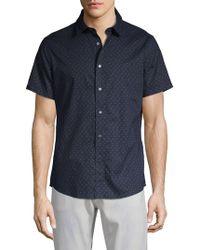 Slate & Stone - Short-sleeve Star Button-down Shirt - Lyst