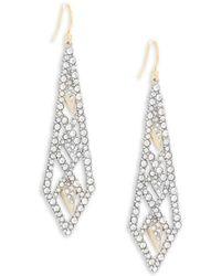 Alexis Bittar - Elements Swarovski Crystal Encrusted & 10k Gold-plated Drop Earrings - Lyst