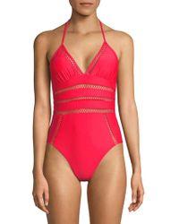 Ella Moss - One-piece Crafty Swimsuit - Lyst