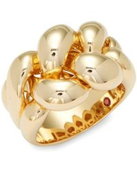 Roberto Coin - Yellow Gold Braided Ring - Lyst