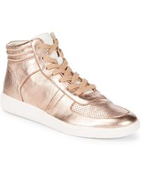 Dolce Vita - Nate Leather Trainers - Lyst