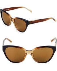 3.1 Phillip Lim - 55m Cat-eye Sunglasses - Lyst