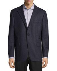 Hickey Freeman - Textured Wool Blazer - Lyst
