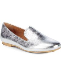 Gentle Souls - Eugene Metallic Leather Loafers - Lyst