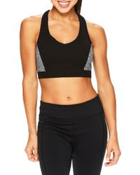Gaiam - Taylor Twist Back Sports Bra - Lyst
