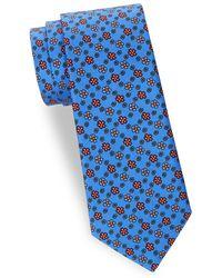 Saks Fifth Avenue - Floral Silk Tie - Lyst