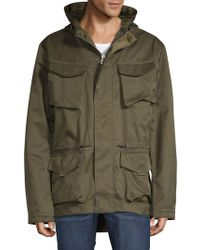 Scotch & Soda - Technica Hooded Jacket - Lyst