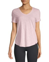 Jane And Bleecker - Classic V-neck Tee - Lyst