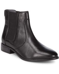 Seychelles - Beatrix Almond Toe Leather Booties - Lyst