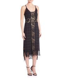 Kempner - Sadie Slip Dress - Lyst