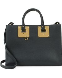 Sophie Hulme - Albion Leather East-west Tote - Lyst