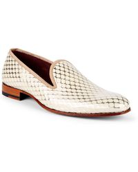 Mezlan - Hilbert Leather Loafers - Lyst