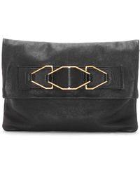 Vince Camuto - Luk Leather Foldover Convertible Clutch - Lyst