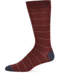Saks Fifth Avenue - Deer Head Printed Crew Socks - Lyst
