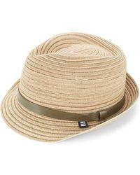 Block Headwear - Braided Straw Hat - Lyst