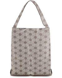 Hermès - Brown Buffalo Silky Pop Tote - Lyst