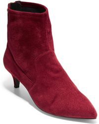 Cole Haan - Harlow Point-toe Booties - Lyst