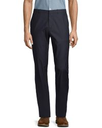 Theory - Jake Cotton Blend Trousers - Lyst