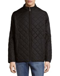 Hawke & Co. - Diamond Quilted Jacket - Lyst